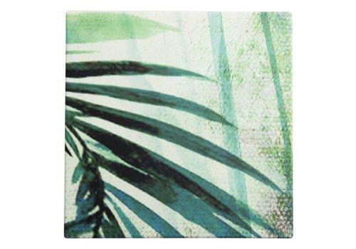 Urban Nature Culture Palm tree keramiek onderzetters