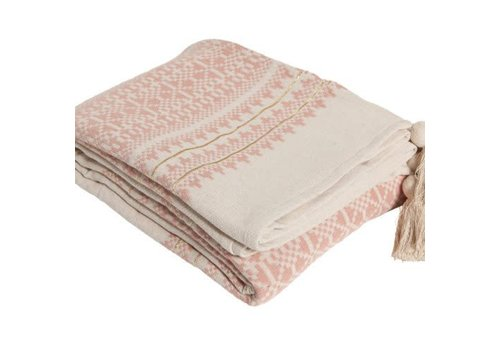Aai Made With Love Indochine Mornings bedsprei vintage roze 270x280cm