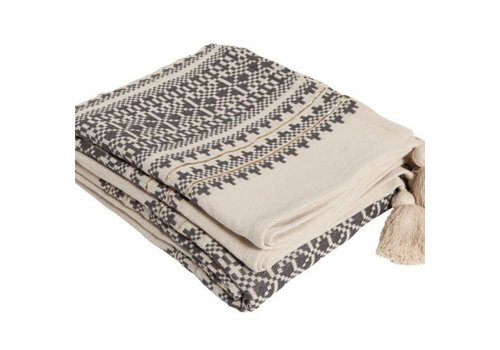 Aai Made With Love Indochine Mornings bedsprei grijs 270x280cm