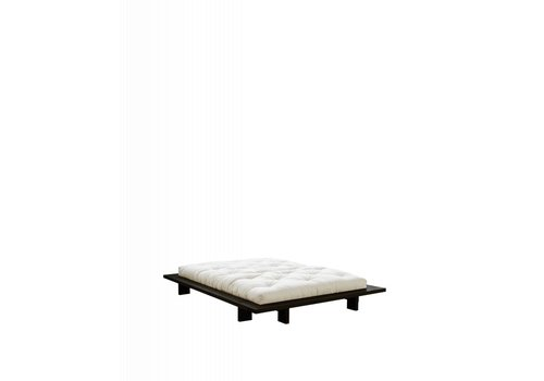 Karup Japan bed grenen zwart