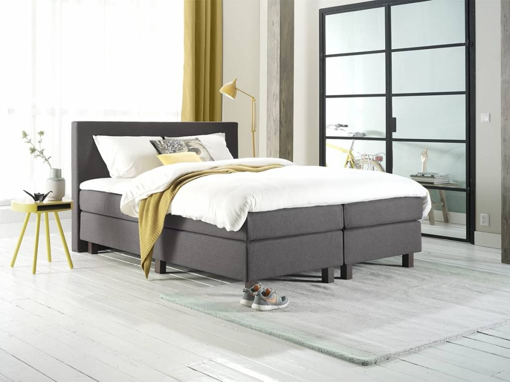 boxspring grazia grootbedden. Black Bedroom Furniture Sets. Home Design Ideas