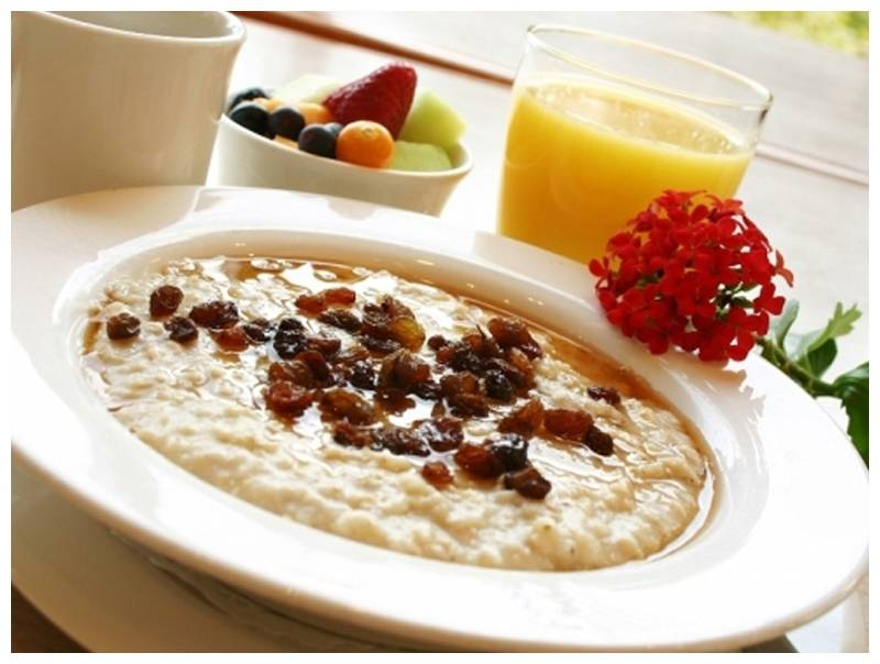 Greensweet stevia Oatmeal breakfast a la Louise.jpg