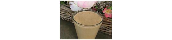 Pindakaascaramel smoothie á la Maaike