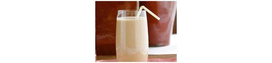 Chocolade bananen smoothie