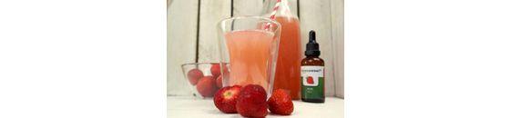 Aardbeien drank