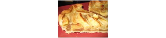Jasmiens Apple pie with Stevia