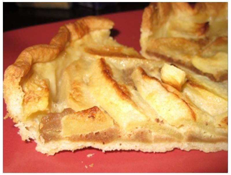 Jasmiens Apple pie with Stevia.jpg