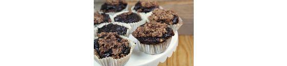 Vegan choco muffins