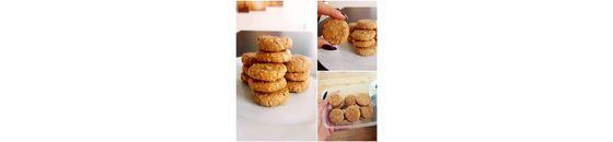 Pinda/Havermout koekjes (lactose &glutenvrij)