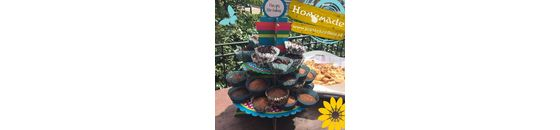 Vanille cakejes van Jessica Mendels