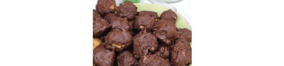 CHOCOLADE EN SALTED CARAMEL KRUIDNOTEN ( VEGAN, GLUTENVRIJ)