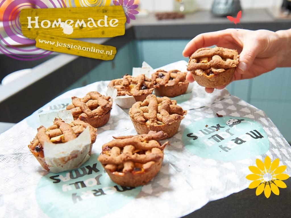Mini appeltaartjes van Jessica Mendels