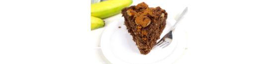 Kokos banaan chocolade taartje (Vegan )