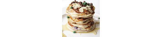 Blueberry proteïne pancakes