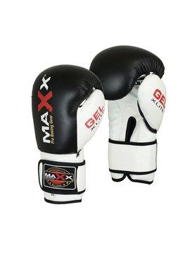 MAXX PRO BOXING GEAR Bokshandschoenen PU Zwart/Wit
