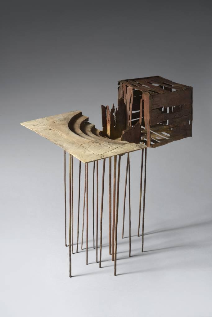Architecturale bronzen sculpturen