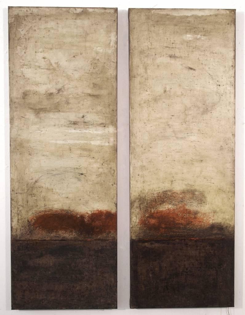 Thomas Lippick - Untitled - 150 x 80 cm (2 panelen)