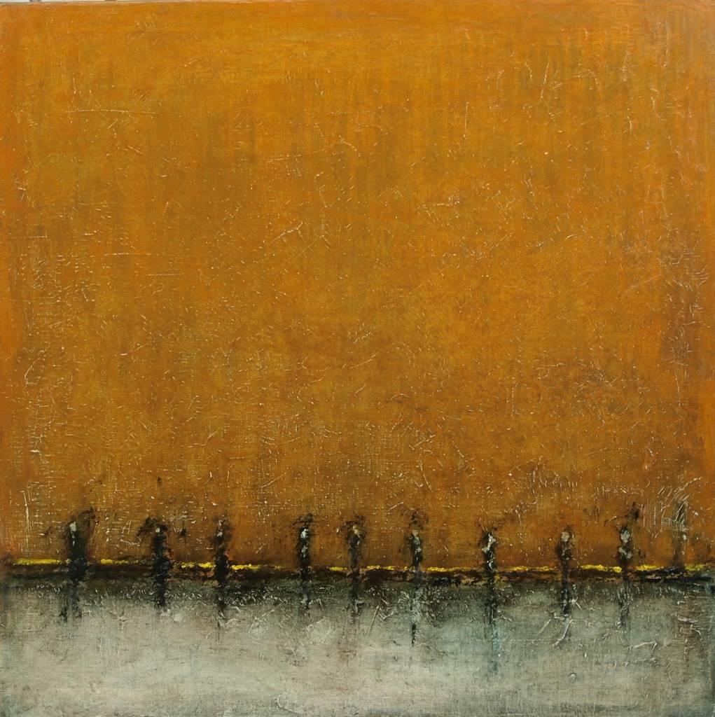 Thomas Lippick - Untitled -  80 x 80 cm