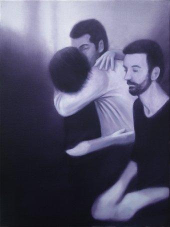 Jeroen Baeken - Schilderij 08 - 80 x 60 cm