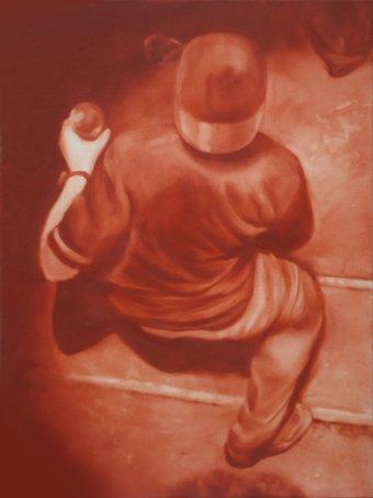 Jeroen Baeken - Schilderij 10 - 80 x 60 cm