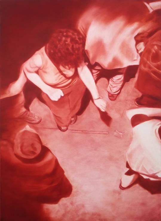 Jeroen Baeken - Schilderij 14 - 130 x 95 cm
