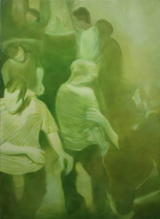 Jeroen Baeken - Schilderij 18- 130 x 95 cm