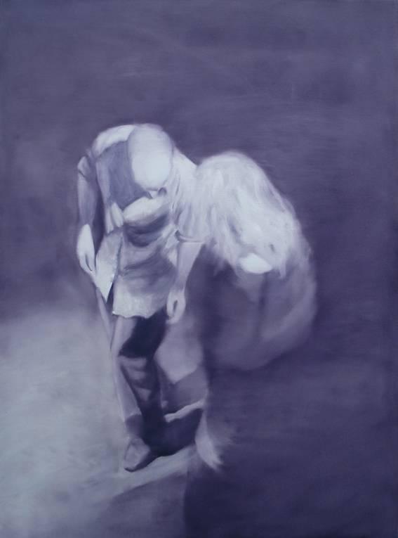 Jeroen Baeken -  schilderij 20 - 130 x 100 cm