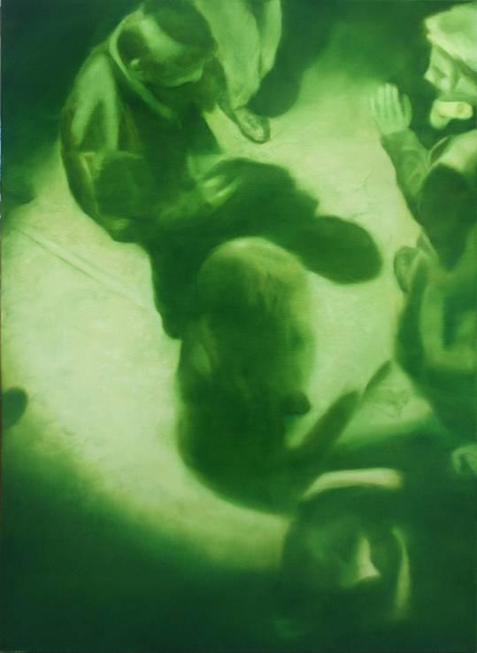 Jeroen Baeken - Schilderij 17- 130 x 95 cm