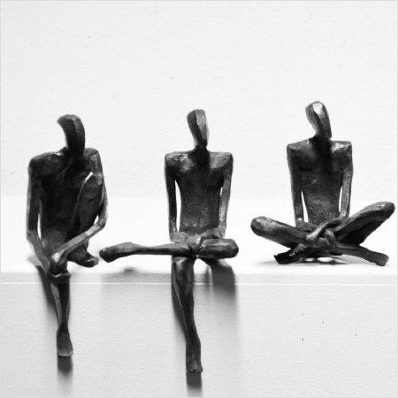 Sculptuur in brons