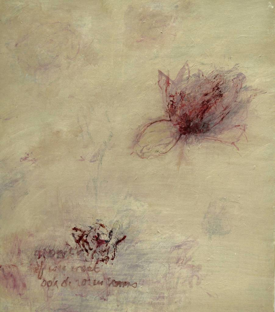 Guido Dobbelaere - Nostalgie de la rose 2 - 50 x 60 cm