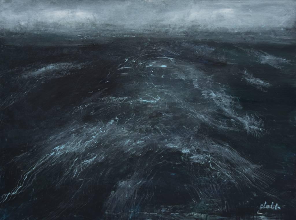 Guido Dobbelaere -Leestekens van de overtocht - 120 x 90 cm