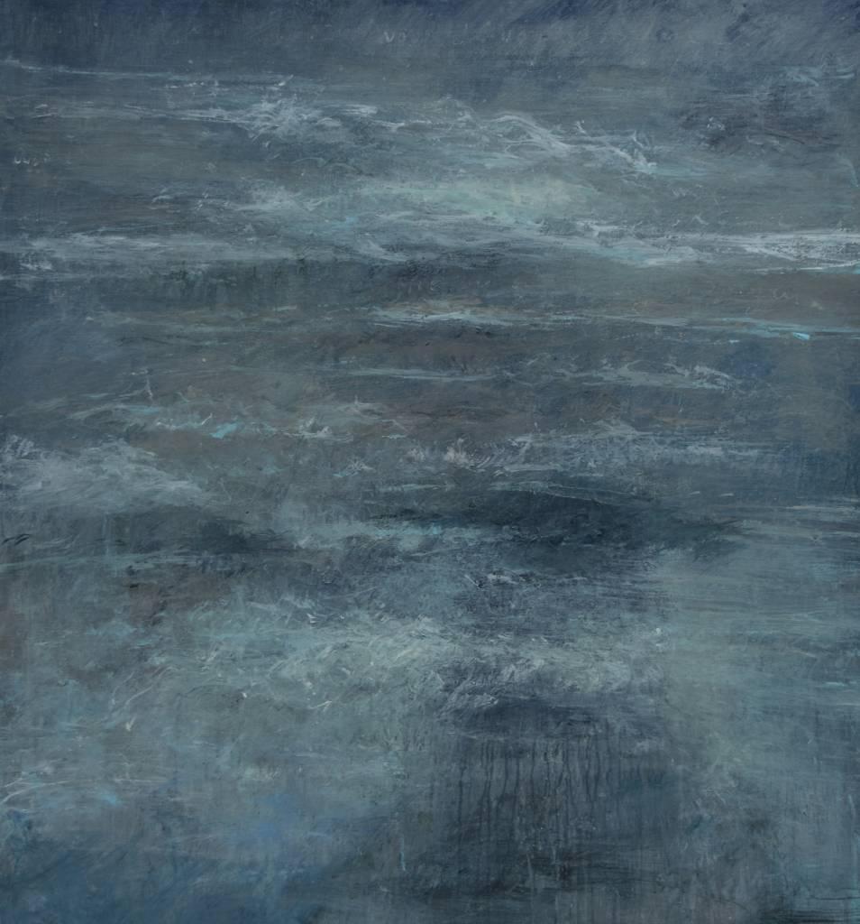 Guido Dobbelaere -Verlangen naar elders - 100 x 110 cm