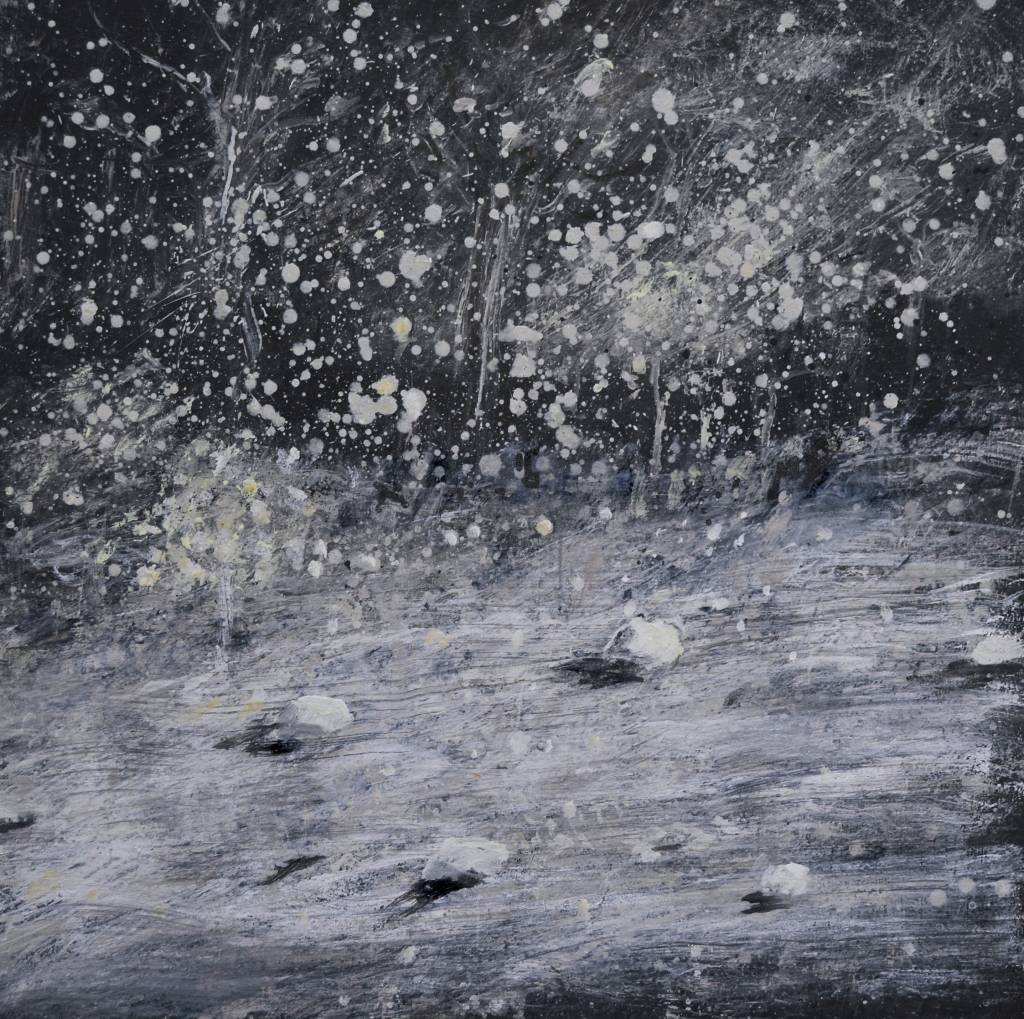Guido Dobbelaere -Day dreams 1 - 100 x 100 cm