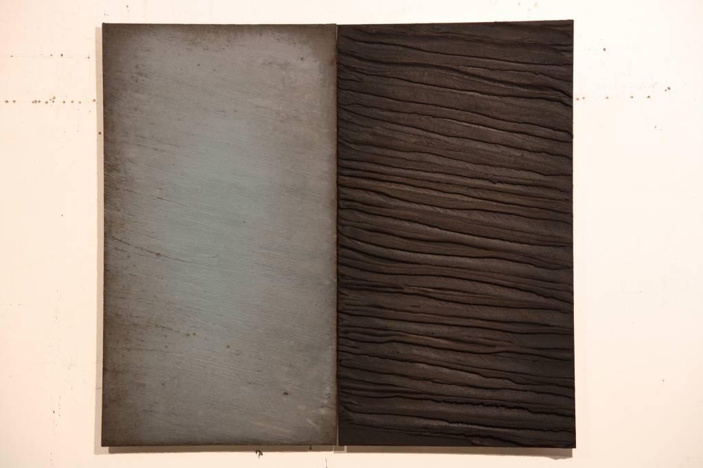 André Navez - Untitled 4 - 90 x 100 cm