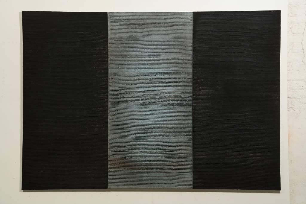 André Navez - Untitled 13 - 125 x 60 (3 panelen)