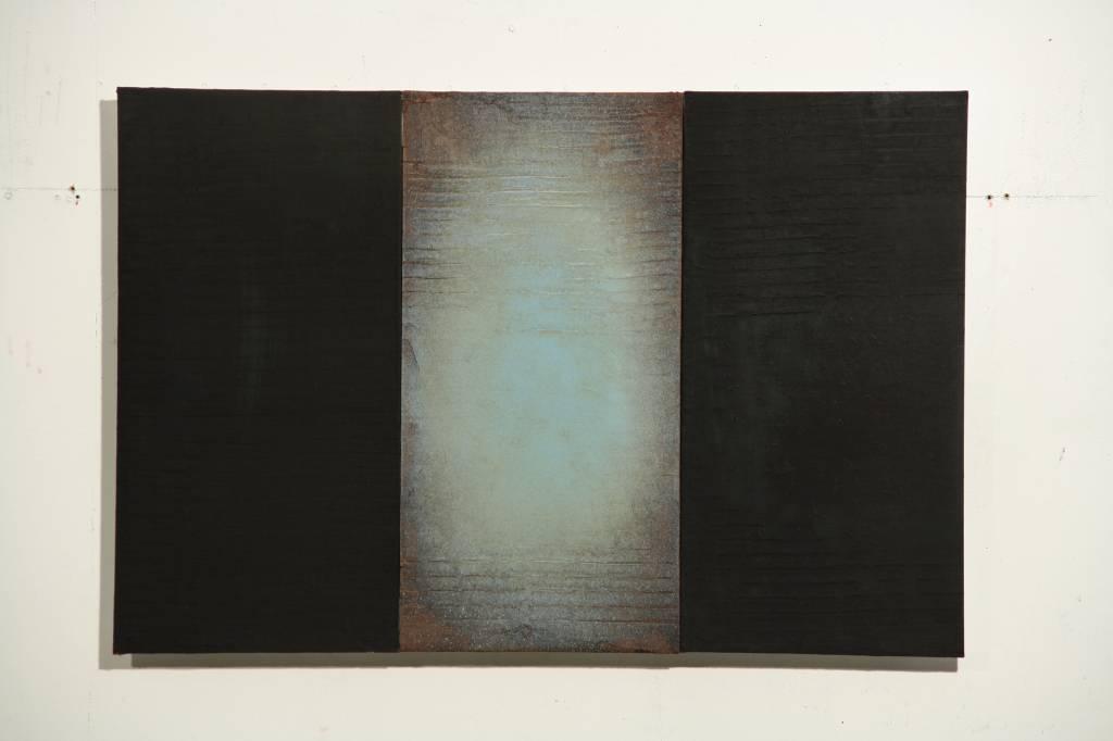André Navez - Untitled 16 - 50 x 75 cm (3 panelen)
