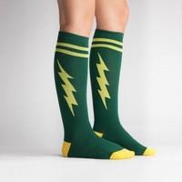 Green Bolt Socks