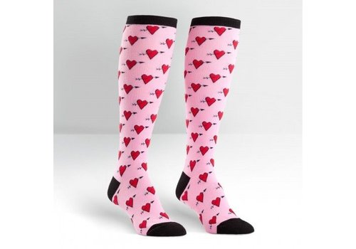 Sock It To Me Heart Socks