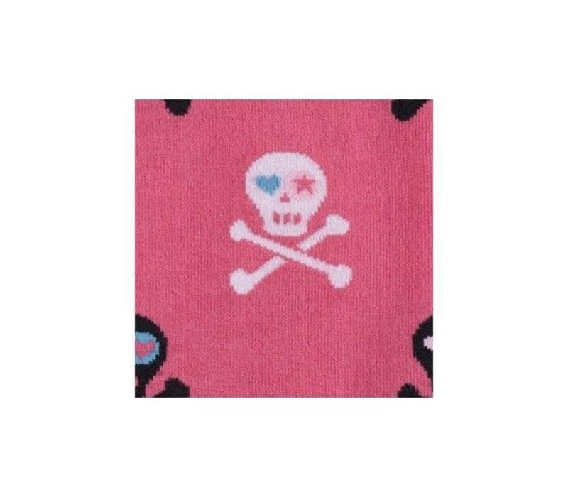 Skulls Pink Socks
