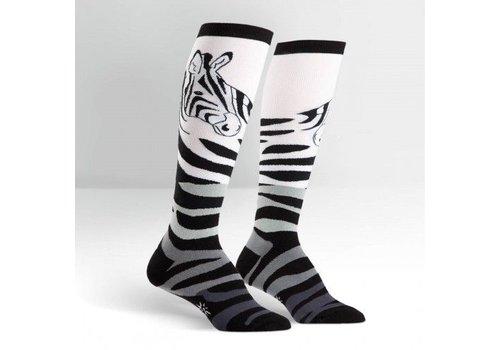 Sock It To Me Zebra Socks