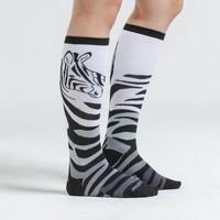 Zebra Socks