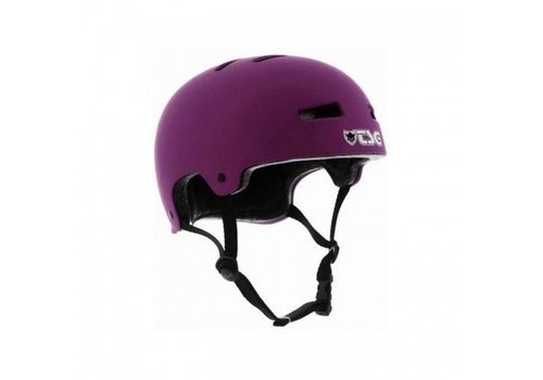TSG TSG Evolution Helmet Purple Matte L/XL