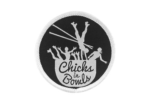 Chicks in Bowls CIB Classic Round Patch