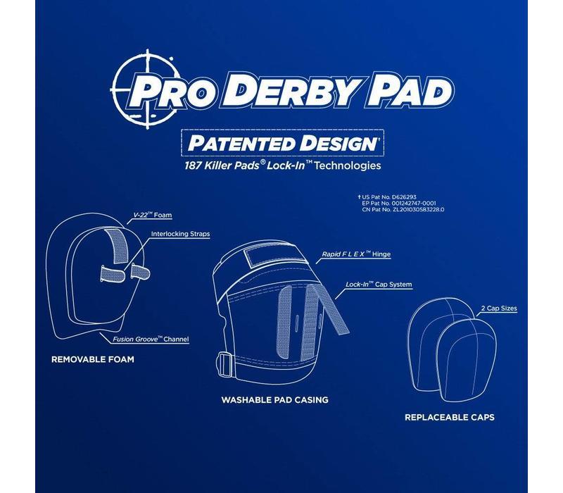 187 Pro Derby Knee Pads