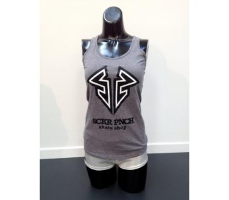 Sucker Punch Skate Shop Tank Top - Grey