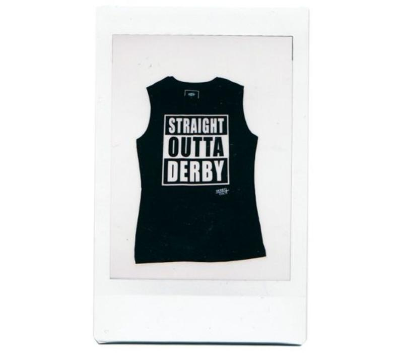 Derby Cult + Straight Outta Derby - Muscle Top