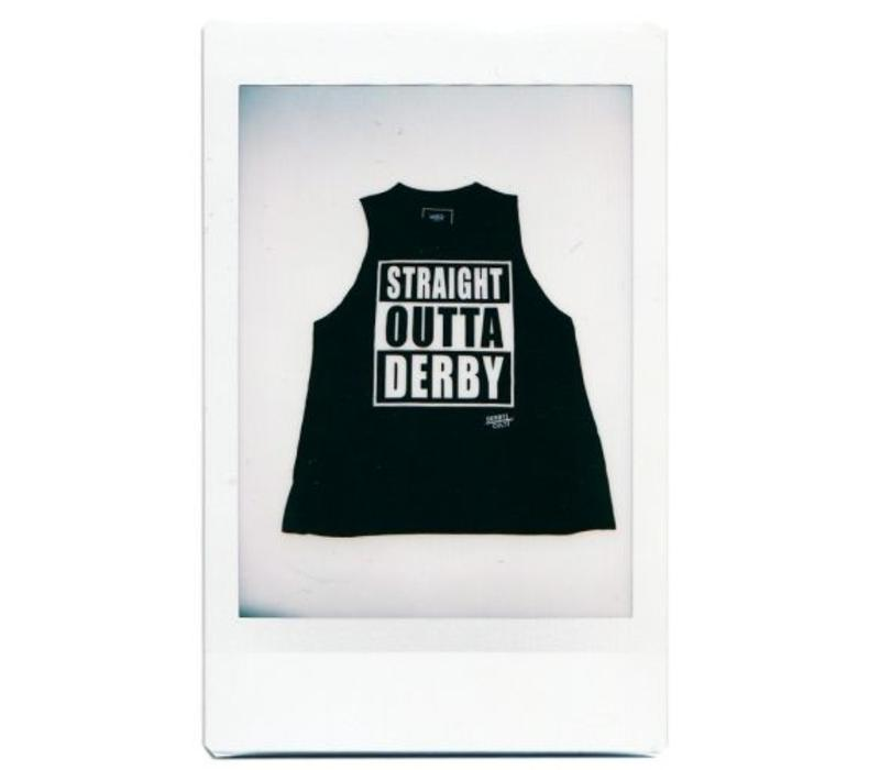 Derby Cult + Straight Outta Derby - High Neck Top