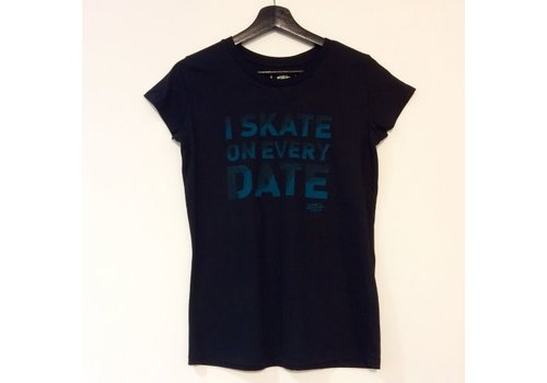 Derby Cult Derby Cult + Skate on Every Date - T-Shirt Female