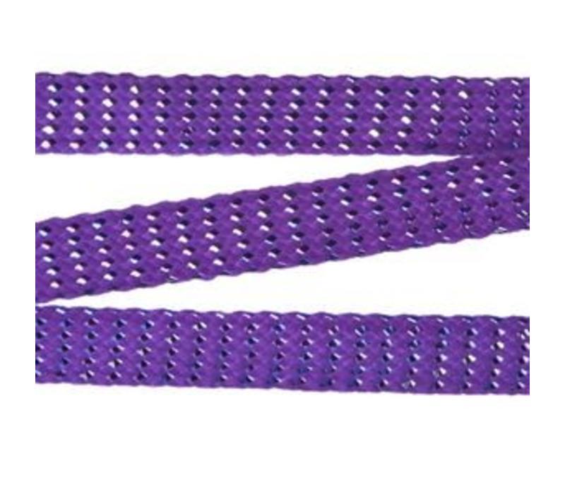 Mr Lacy Purple Chrome Laces