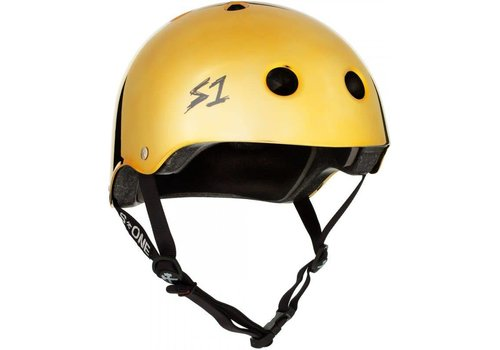 S1 Helmet Co. S1 Lifer Helmet Gold Gloss Mirror